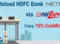 HDFC FASTag Recharge Online Process
