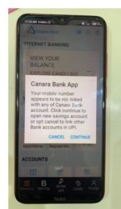 Canara-bank-UPI-error