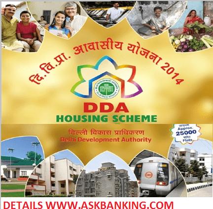 Bank Loan For DDA Housing Scheme 2017-18
