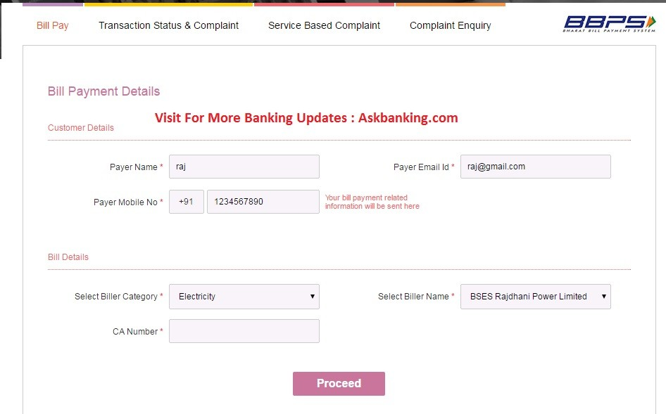 How To Register on BBPS ?