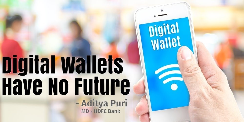 Why Paytm or other e Wallet have no future ?