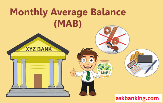 Bank's Monthly Average Balance Calculator (MAB)
