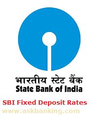 SBI Fixed Deposit Interest Rate Calculator