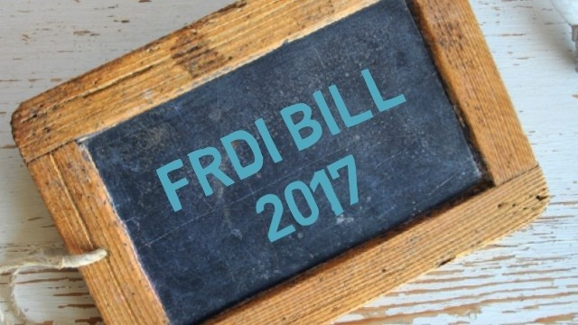 Know The Financial Resolution and Deposit Insurance Bill (FRDI)