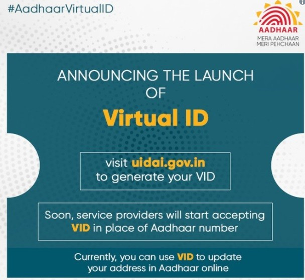 RBI Asks Banks to Implements Aadhaar Virtual ID Systems by 30th June