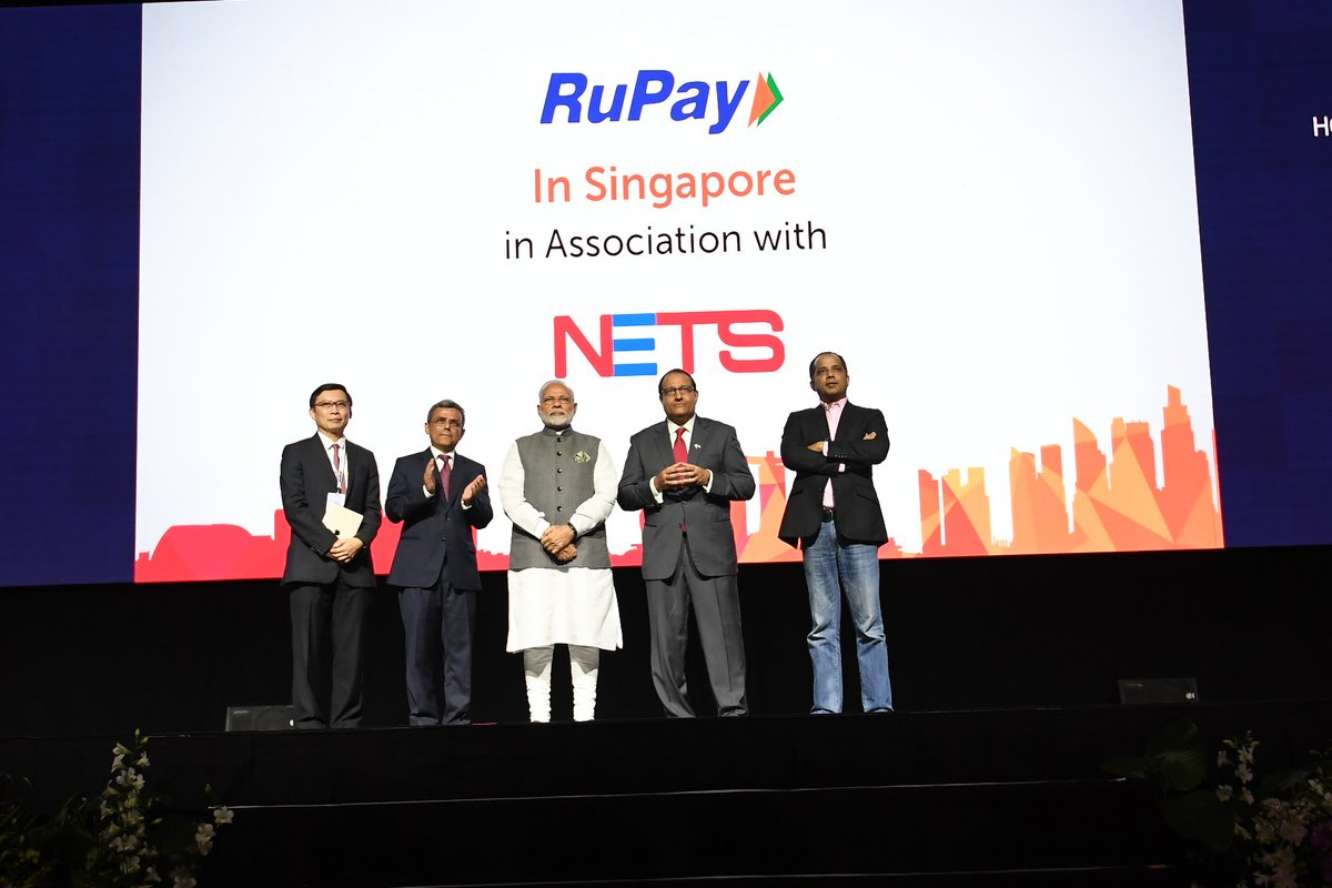 BHIM & Rupay Now Launched in Singapore