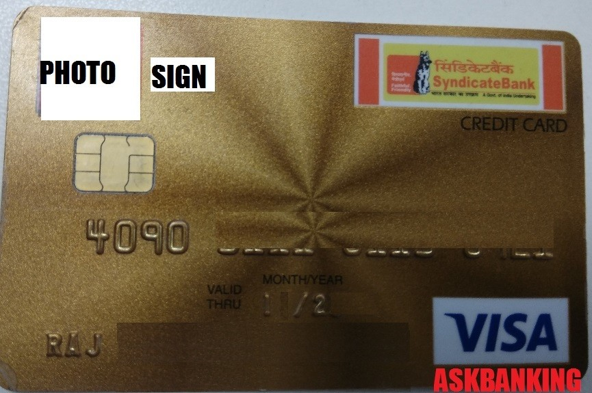 Syndicate Bank Credit Card Bill Payment Through NEFT