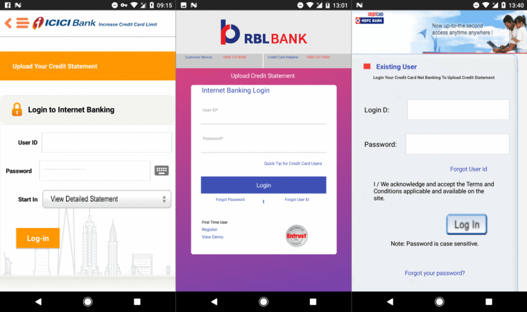 Fake Android Apps on Playstore Dupes ICICI, HDFC and RBL Credit Card Holders