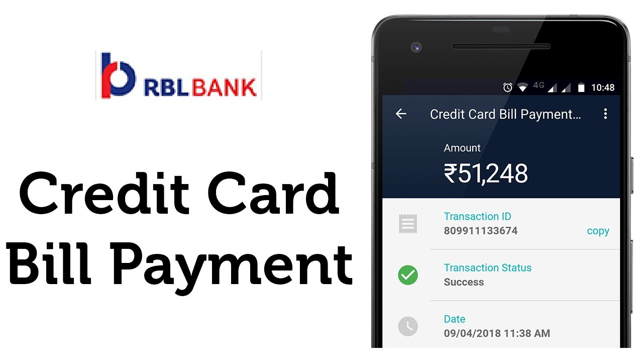 Steps to Pay RBL Credit Card Bill Payment through UPI