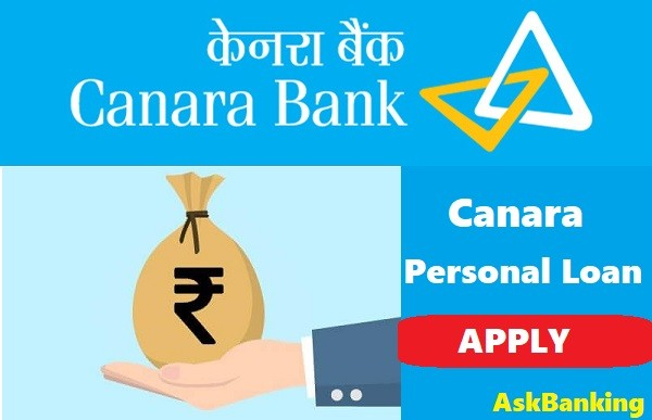 Canara Bank Cheaper Personal Loan for Professional & Salaried