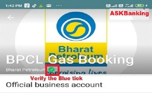 Book BPCL Gas Cylinder Through Whatsapp Chat