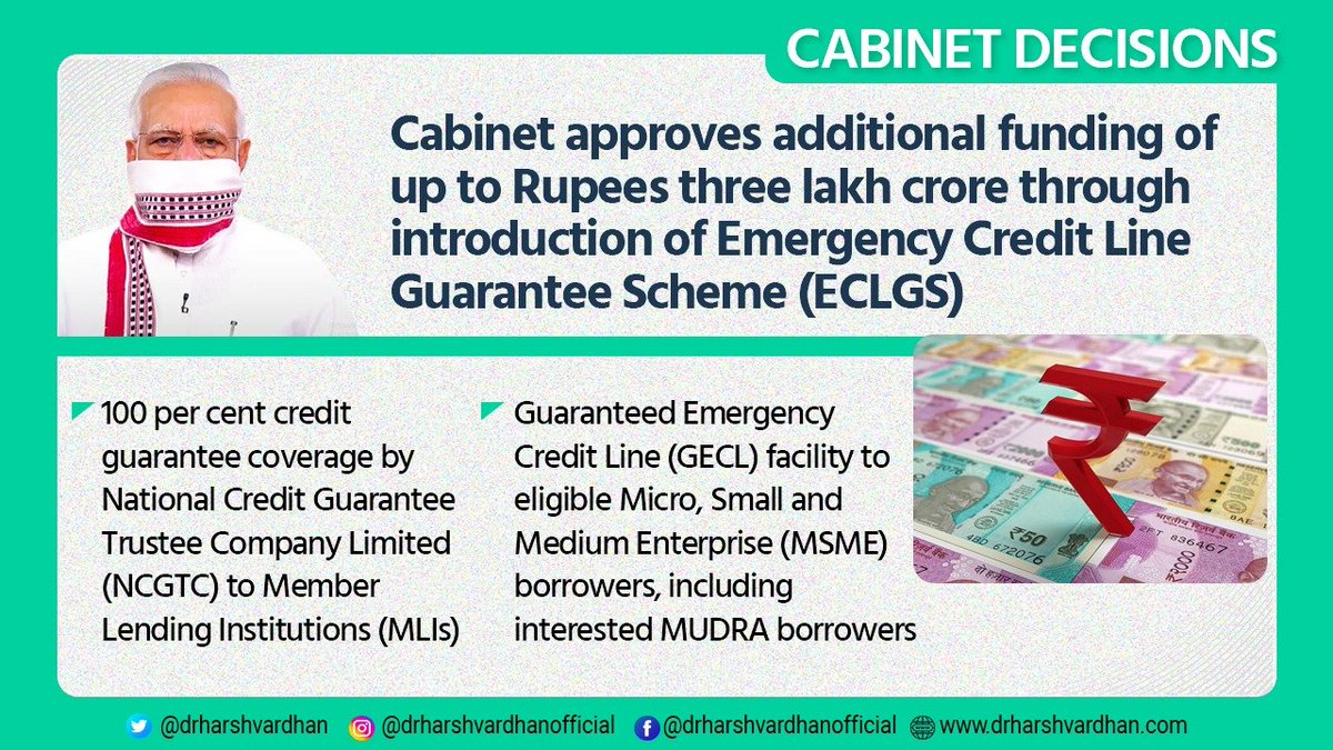 How Will Rs 3 Lakh Crore Emergency Credit Line (GECL) Work ?