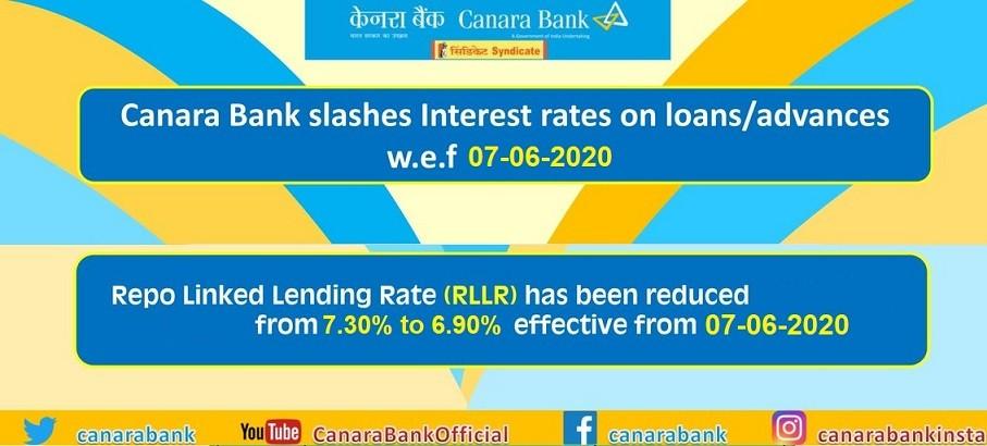 Canara Bank Loans to Get Cheaper, Reduces RLLR & MCLR