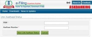 link PAN-Aadhaar ITR