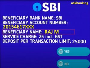 Find Account Holder Name